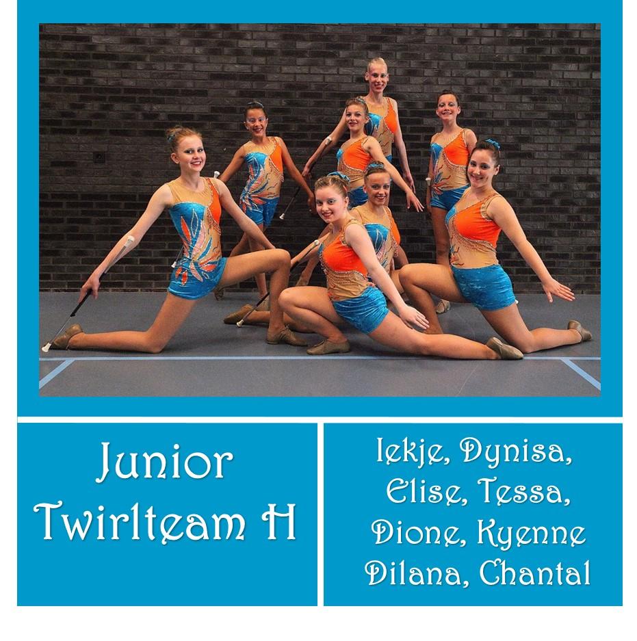 Junior Twirlteam H - Junior Beginner