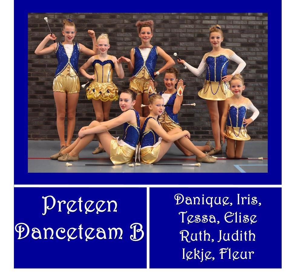 Preteen Danceteam B – Preteen beginner