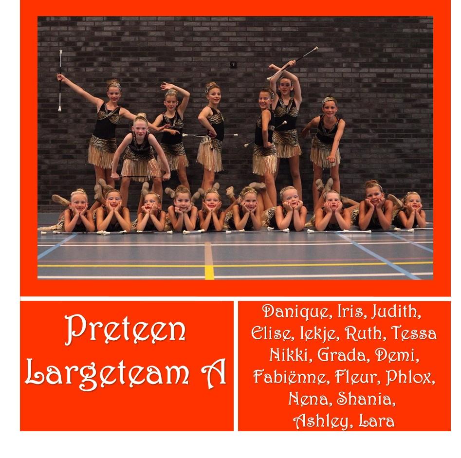 Preteen Largeteam A - Preteen Beginner